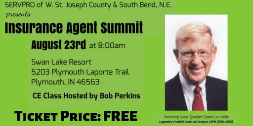 SERVPRO Continuing Education Event with Lou Holtz