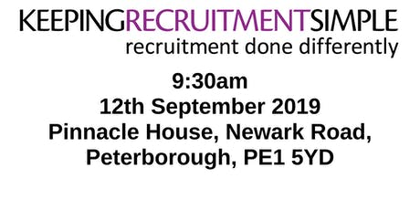 Recruitment Done Differently tickets