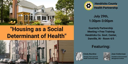 Housing as a Social Determinant of Health // QPM + Free Training