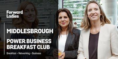 Middlesbrough Power Business Breakfast Club - September