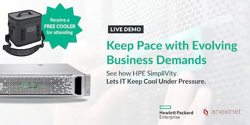 HPE SIMPLIVITY DEMO DAYS