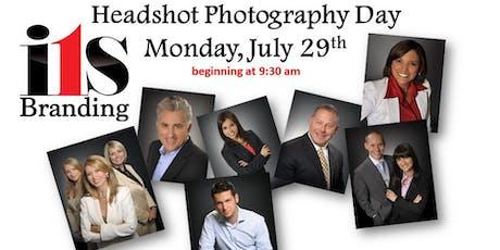 Headshot Photography Day tickets