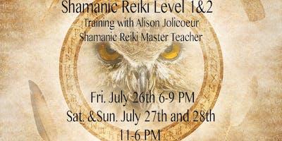 Shamanic Reiki Level 1&2 Training