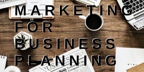Marketing for Business Planning tickets