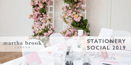 Martha Brook Stationery Social 2019 tickets