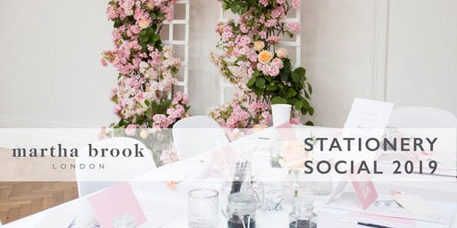 Martha Brook Stationery Social 2019