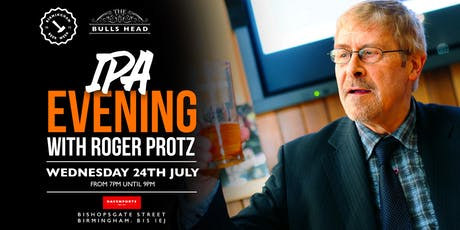 IPA Evening with Roger Protz tickets