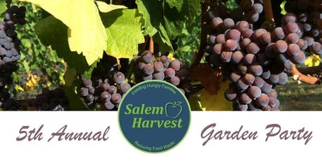 5th Annual Salem Harvest Garden Party tickets