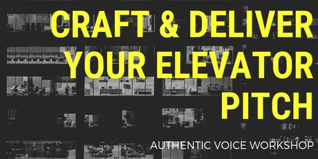 What is an Elevator Pitch, and Why Do I Need One? tickets