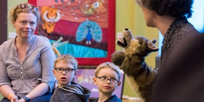 Once Upon a Park: sharing stories with the Story Museum