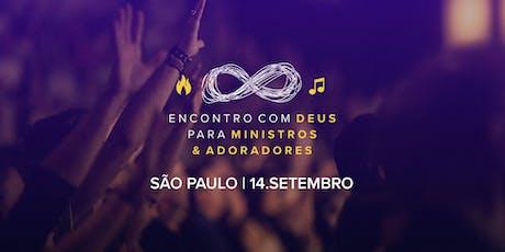 E.D.M.A (SP) - Encontro com Deus para Ministros & Adoradores - São Paulo ingressos