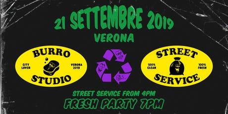 Burro Studio Street Service - Cleaning Verona tickets