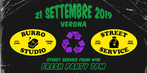 Burro Studio Street Service - Cleaning Verona