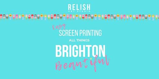 Easy Screen Printing