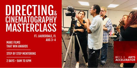 Directing & Cinematography Filmmaking Masterclass for Beginner & Intermediate  tickets