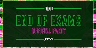 End Of Exams - Official Party