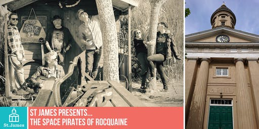 St James presents... The Space Pirates of Rocquaine