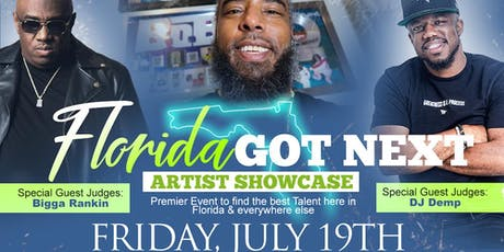 Florida Got Next Artist Showcase & Music Industry Networking Event tickets