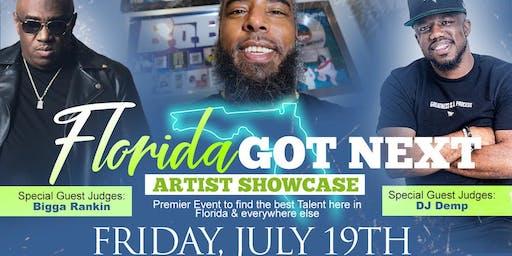Florida Got Next Artist Showcase & Music Industry Networking Event