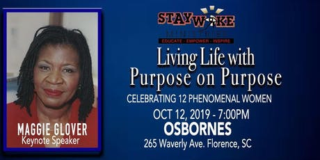 Living Life with Purpose on Purpose tickets