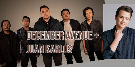 December Avenue + Juan Karlos LIVE! (General Admission) tickets
