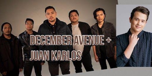 December Avenue + Juan Karlos LIVE! (General Admission)