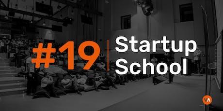 Startup School #19 - Sales B2B & Legal tickets