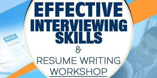 NSN New England Presents: Effective Interviewing Skills & Resume Writing Workshop