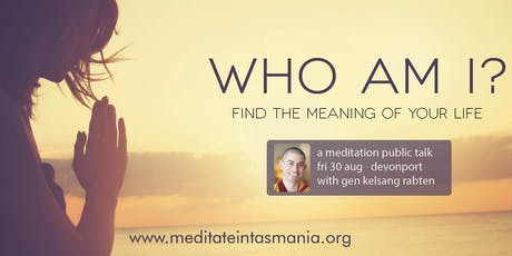 Who Am I? - Public Talk (Devonport) | Fri 30 Aug tickets