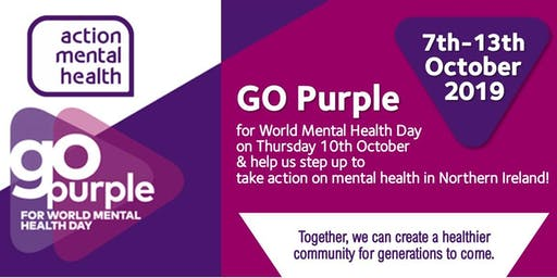 GO Purple for World Mental Health Day