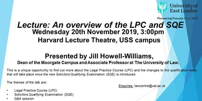 Lecture: An overview of the LPC and SQE