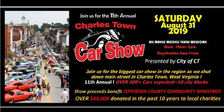 Charles Town Car Show tickets