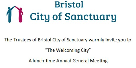The Welcoming City:  Bristol City of Sanctuary Annual General Meeting tickets