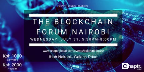 The Blockchain Forum Nairobi tickets