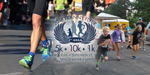 9th Annual St. Francis Franny Flyer 5K, 10K, 1 mile Run/Walk & 1K Kids Fun Run