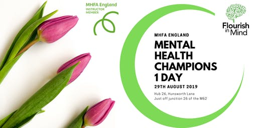 Mental Health First Aid Champions! 1 Day