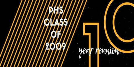 PHS Class of 2009 Reunion tickets