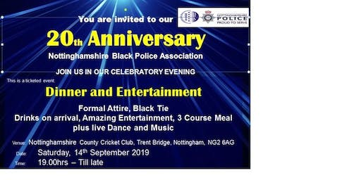 Notts BPA 20th Anniversary