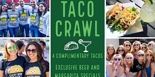 3rd Annual Taco & Tequila Crawl: Greenville