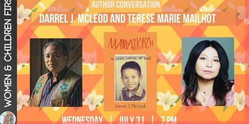 Darrel J. Mcleod in conversation with Terese Marie Mailhot
