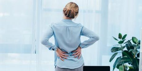 FREE Back Pain Event - your questions answered tickets