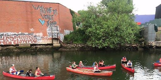Canoeing the Gowanus Canal in Brooklyn
