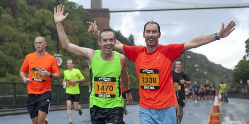 Run Great Bristol Half for seriously ill children