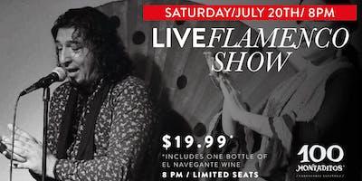 Flamenco Show | Saturday, July 20th - 8pm