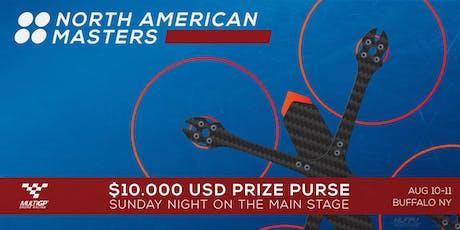 North American Masters - Pilot Registration tickets