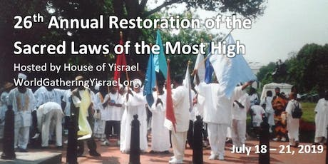 26th Annual Restoration of the Sacred Laws Conference tickets