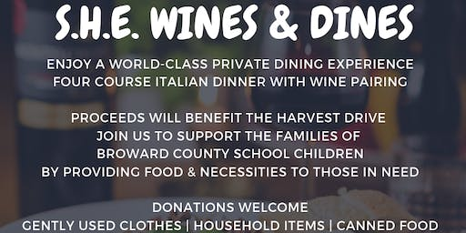 S.H.E Wines and Dines