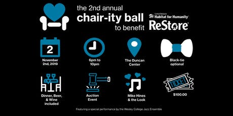 The 2nd Annual Chair-ity Ball tickets