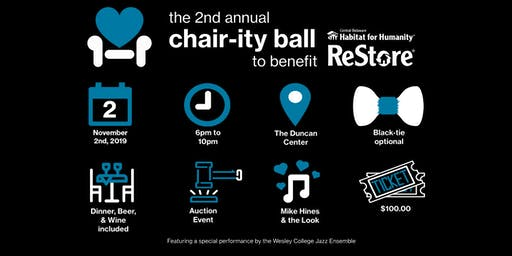 The 2nd Annual Chair-ity Ball