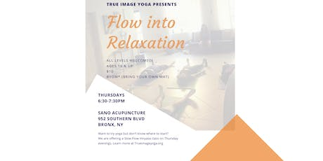 Flow Into Relaxation tickets
